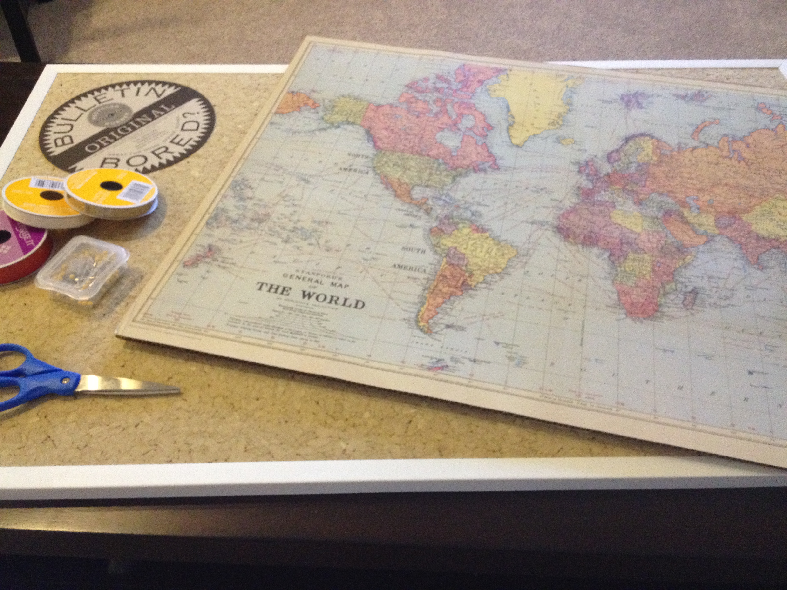 DIY Travel Map – Map My Travels