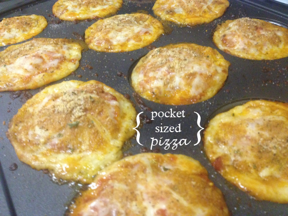 Pocket Sized Pizza